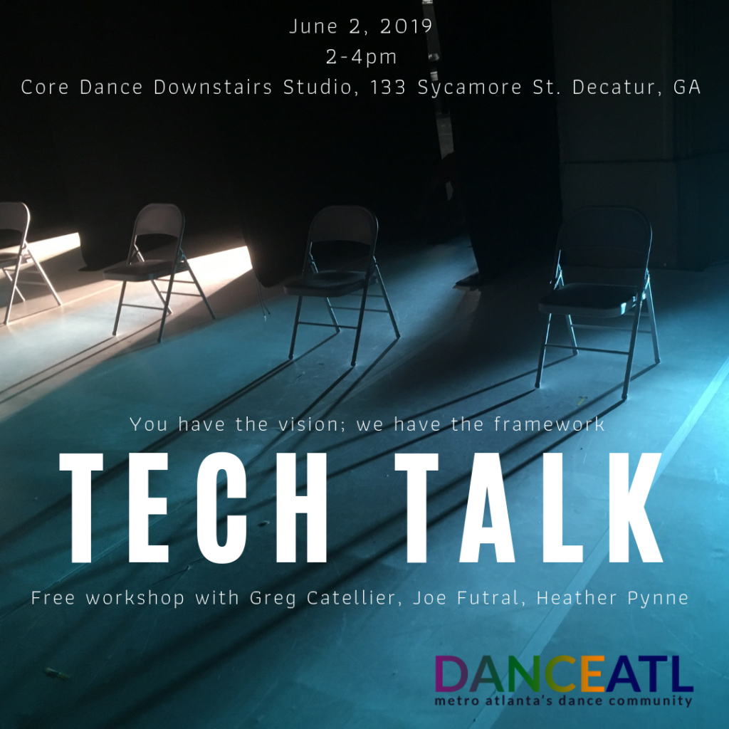 DanceATL hosts first workshop to Atlanta dance community: Tech Talk