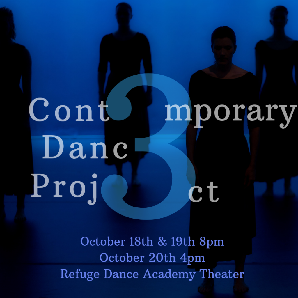 Refuge Dance Company presents the work of six Atlanta-area choreographers during October 18-20 performances.