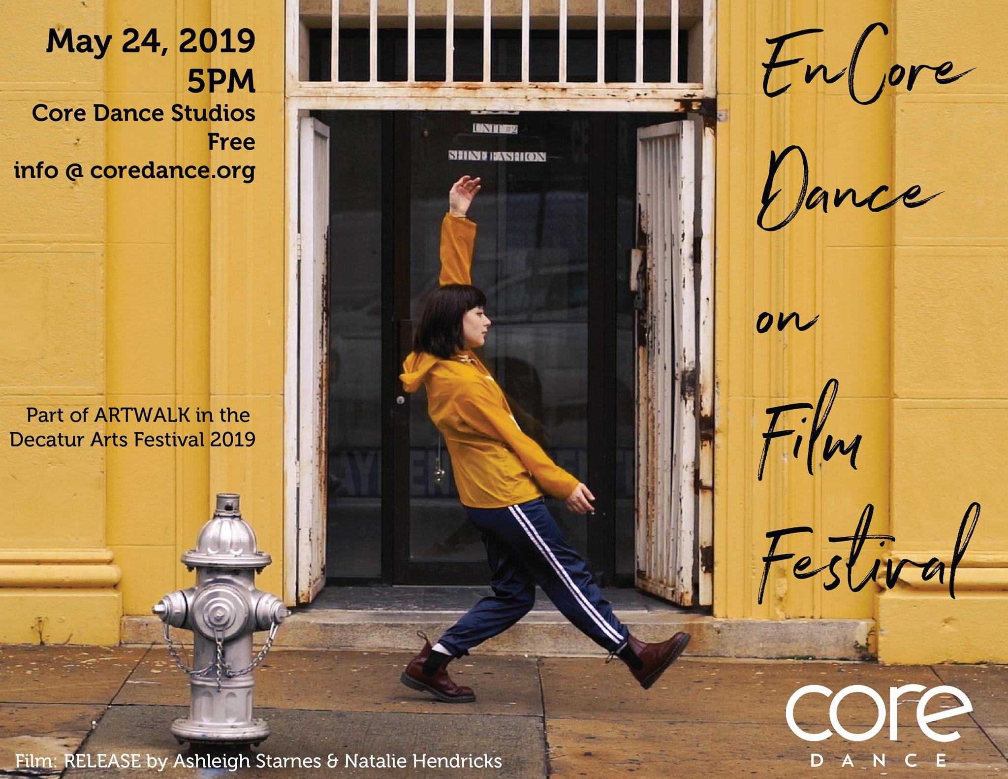 enCore dance on film festival 2019