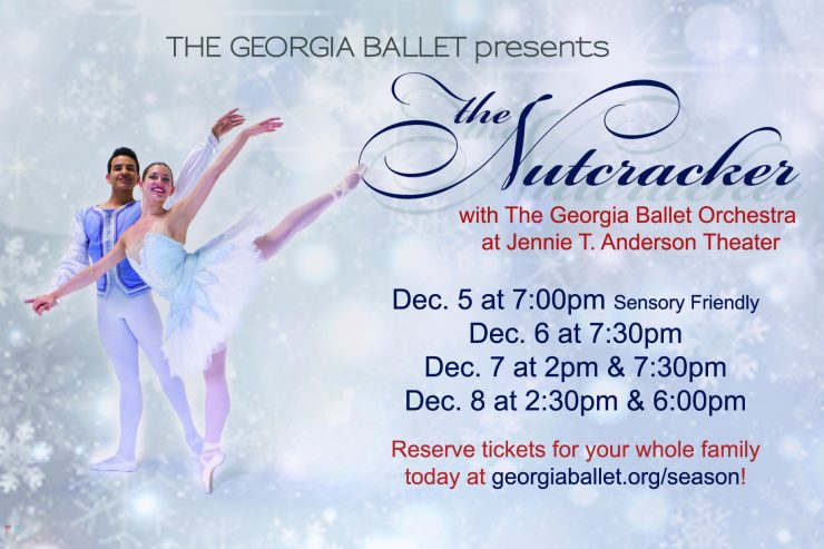"Live Orchestra Joins The Georgia Ballet's ""The Nutcracker"""