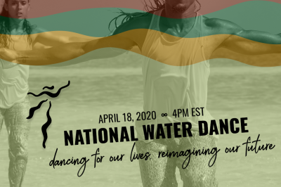 NWD Projects Presents the 4th Annual National Water Dance on April 18, 2020, 4PM EST