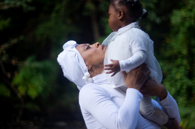 PhaeMonae finds art in motherhood